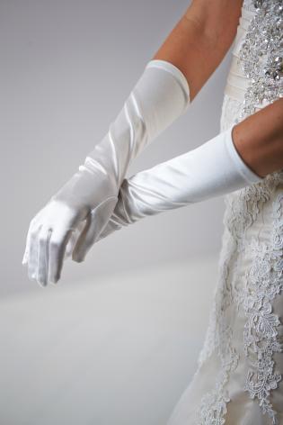 Dress gloves Ivory