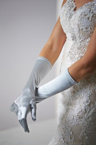 Dress gloves Gray