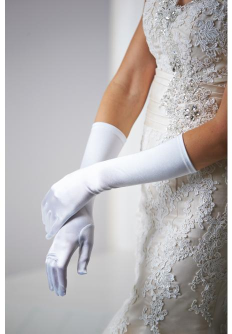 Dress gloves White